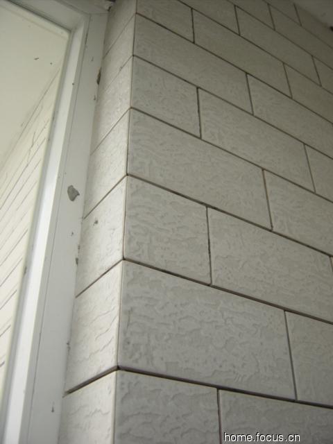 图片 竺竺家的诞生过程3 卫生间 阳台瓷砖铺贴过程