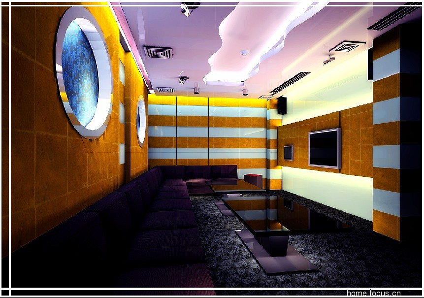 北京某ktv的一套经典设计效果图 海南装修集采
