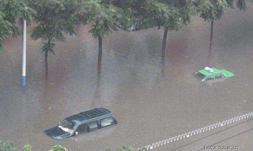 2008年8月14号石家庄大雨之后 - 小高 - 凝望蔚蓝