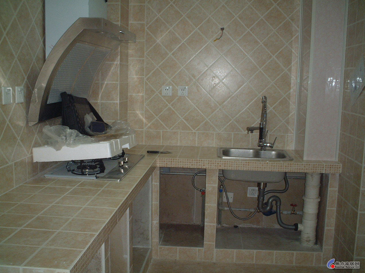 小熊家水泥厨柜学习中 - 黑海白浪 - 黑海白浪的博客