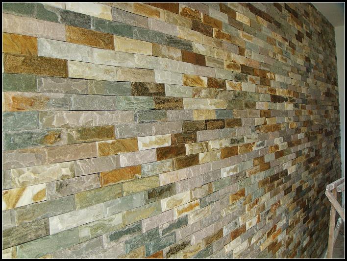 墙面,一进门正对的整面墙,效果还是相当震撼滴!这是没刷清漆之