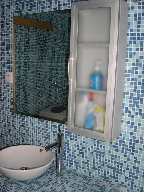 卫生间吊柜和镜子 广州设计论坛 搜狐焦点网装修家居网